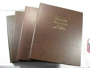 Dansco Album #8166 Kennedy Half Dollars Incl. Proof Issues 1964-2007 PDS 7 Page.