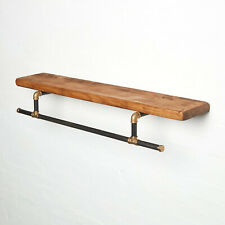 Reclaimed Scaffold Board Shelf - All Lengths - Any Colour - Rustic Shelves!