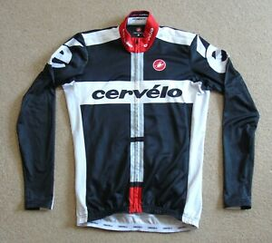 """FAIR CONDITION CERVELO LONG SLEEVE JERSEY CASTELLI LARGE 40"""" CIRCUMFERENCE"""