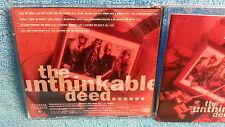 EDWIN DARE The unthinkable deed CD 1992 JAPAN INDIE METAL Leatherwolf b3954