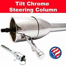 1981 - 1988 Monte Carlo 32 Chrome Tilt Steering Column No Key Floor Shift