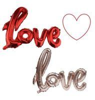 60cm Love Lettera Palloncino Sceneggiatura Lamina Festa Matrimonio Fidanzamento
