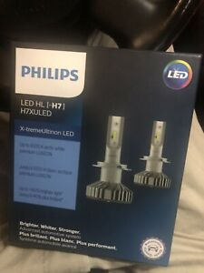 Phillips LED XTREME ULTINON H7 Led Headlights!!!
