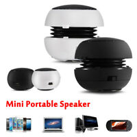 Mini Portable Stereo Speaker 3.5mm Wired Music Player for Mobile Phone PC MP3