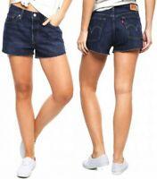 Levi's Damen Jeanshort 501 Marineblau W30, W32