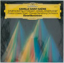 Saint-Saëns, Orgel-Symphonie, Litaize/Barenboim [DGG 2530 619]