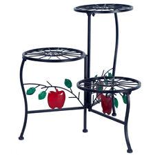 New listing Usa 3-Tier Metal Plant Stand Flower Pot Holder Shelf Rack Garden Yard Home Art