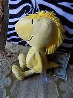 "Woodstock Bird Kohl's Cares 2013 Plush Peanuts Yellow Stuffed Animal 13"" Tall"