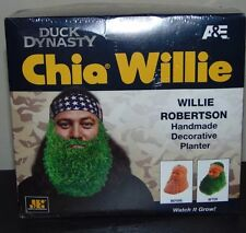 NEW in Box Chia Pet A&E Duck Dynasty Willie Robertson Handmade Planter