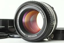 *Near Mint-/ HS-9 Hood & Genuine filter* Nikon Ai-s Nikkor 50mm F/1.4 Lens Japan