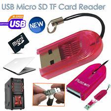 Memory Card Reader USB 2.0 Writer Micro SD MINI Transflash TF Drive High Speed
