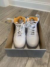 Nike Air Jordan Fusion 5 Stealth Orange Size 10 Preowned