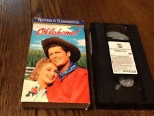 Oklahoma (VHS, 1991) USED WESTERN MUSICAL FUN FAMILY FREE USA SHIPPING