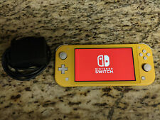 Nintendo Switch Lite - Console & Charger - Yellow - Works Perfect! Authentic!