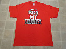 PORTLAND THUNDER Official Game T-SHIRT Men XL Promo LA Can KISS My Football Team