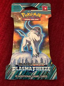 Pokemon Factory Sealed Unopened Black /& White Plasma Freeze Booster Pack