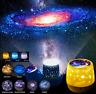 Rotating LED Light Projector Xmas Star Moon Sky Baby Kids Night Mood Lamp Gift