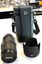 Sigma Nikon 70-200mm f2.8 AF-D EX APO HSM IF Lens.