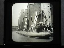 VINTAGE COLLECTIBLE GLASS PICTURE NEGATIVE Whale back Ship Chicago Illinois