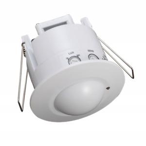 Microwave motion sensor motion detector adjustable universal IP20 360 ST753