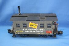 ARISTO CRAFT TRAINS G SCALE TRACK MAINTENANCE / CLEANING CAR ART-46950 PLS READ!