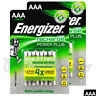 8 x Energizer Power Plus AAA 700mAh batteries Rechargeable Ni-Mh 1.2V Accu HR03