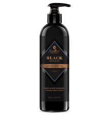 Jack Black Black Reserve Body & Hair Cleanser 12 oz   new fresh