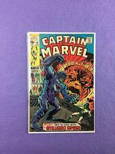 Captain Marvel #16 (1969): 1st New Captain Marvel (New Powers/ Uniform)!  VG/FN!