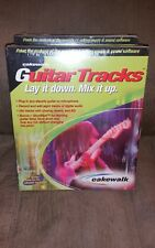 Cackewalk guitar tracks lay it down mix it up. Guitar data software.