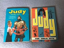 Judy for girls 1973 1979 Collectable Books Annual