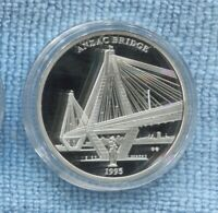 1995 Anzac Bridge ex 225 Year of Sydney Collection Medallion COA
