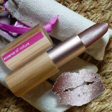 Zao MAKE-UP Pearly Lipstick 406 chiarore Rossetto Naturkosmetik bio bambusbox