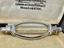 Good High End Quality Monet Crystal Modernist Brooch -