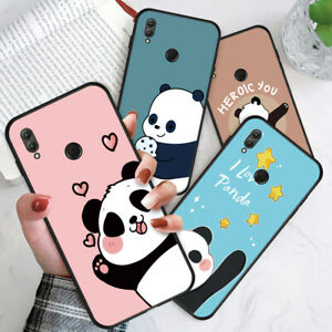 Cover For Honor Y9 Prime 2019 9X 8 7X Shockproof Cute Panda Soft TPU Phone Case