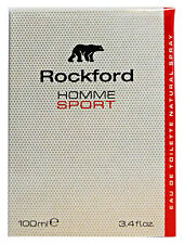 ROCKFORD Homme Sport Eau De Toilette Colonia Uomo 100 ml - Profumo Maschile
