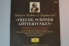 Beethoven von Karajan Aufnahme Probe 4 Satz Sinfonie 9 70 Jahre DG 643201 LP63