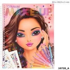 Depesche TOPModel Make-Up Malbuch Malheft Ausmalbuch Kinder Mädchen Sticker Buch