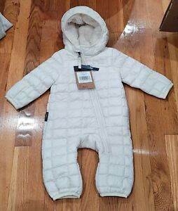 NEW The North Face Infant ThermoBall™ Eco Bunting Winter Jacket Size 3-6 M
