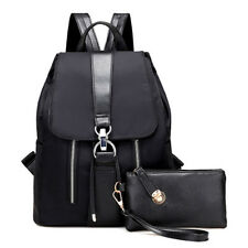 Women Girl Backpack Simple Casual Leisure School Leather Backpacks Fashion Bags