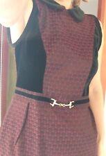 Tailleur e abiti sartoriali da donna neri in cotone taglia 42  9819e6f6672