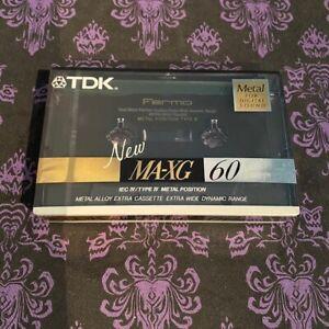 TDK MA-XG 60 IEC IV / TYPE IV Metal Position brand new blank cassette OOP NOS