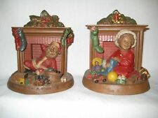 "Vintage Tom Clark Gnome Figurines ""Down w/ a Bound""#54 & ""Toys all Around""#39"