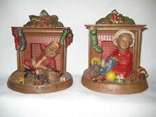 "Vintage Tom Clark Gnome Figurines ""Down w/ a Bound""#54 & ""Toys all Around""#39"