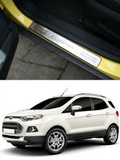 FOR FORD ECOSPORT 2013-2017 FRONT DOOR SILL SCUFF PLATE COVER TRIMS PROTECTOR