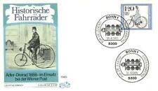 Germany 1985 FDC 1245 Rower Bicycles Bike Fahrrad Vélo Bicicletta