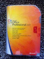 Microsoft Office Professional 2007, retail, l'allemand avec TVA Facture