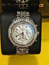 Breitling A13362 for Bentley GT SPECIAL EDITION 4 CARAT BEZEL 10CARAT BRACELET