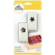 RETRO FLOWER & FLOWER Mini 2pc Slim Paper Punches by EK Success