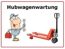 Hubwagen Wartung, Reparatur, Gabelhubwagen, Ameise, Stapler, Handhubwagen