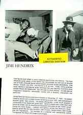 jimi hendrix limited edition press kit